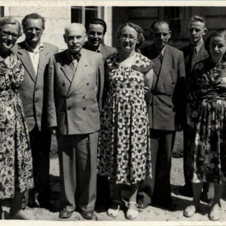 Emakeele Seltsi juhatus 1960ndate algul.